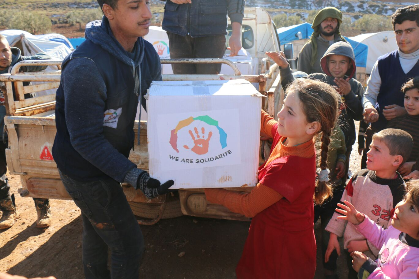 Aide alimentaire au Syrie